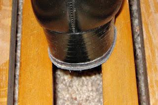 Wide heel