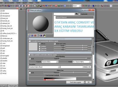 Zmodeller ilk ders videosu (Gta'dan araç convert + Araç parçalama ve bölme işlemi)