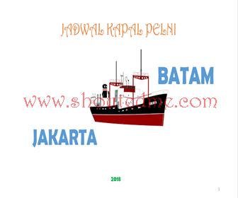 Jadwal kapal jakarta batam