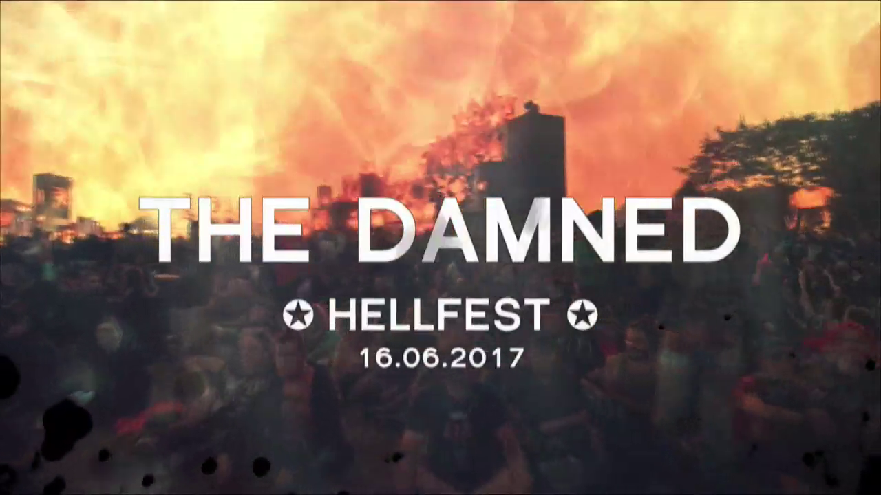 Arte Tv Hellfest 2017 Dark Circle Room The Damned Hellfest Clisson France 16 06