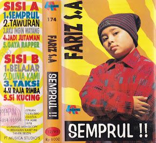 fariz s a album semprul www.sampulkasetanak.blogspot.co.id