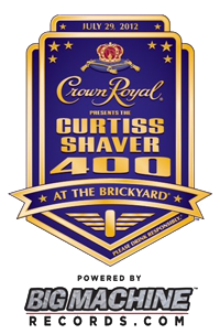 Crown Royal Presents the Curtiss Shaver 400 at the Brickyard #NASCAR