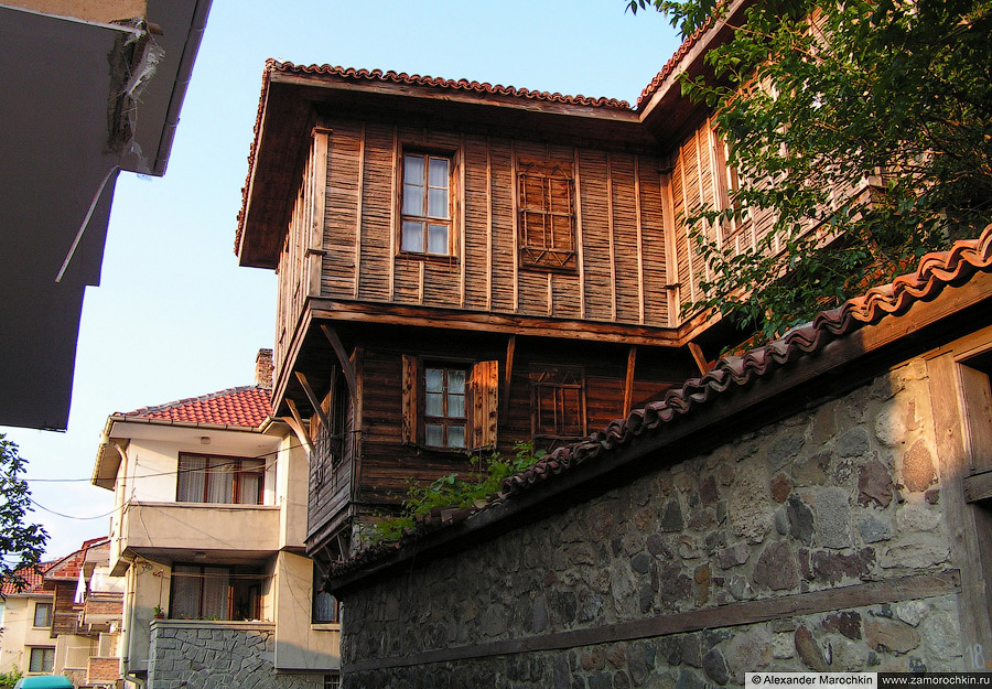 Архитектура Созополя   Architecture of Sozopol