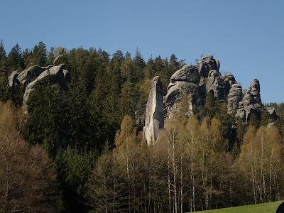 Czechy, Adrspach, Skalne Miasto