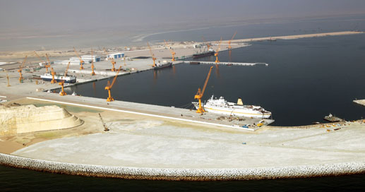 Duqm Port has become a beehive of construction activity