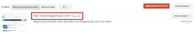 Cara Submit Peta Situs atau Sitemap.XML Blog ke Google Webmaster Tools (Search Console)