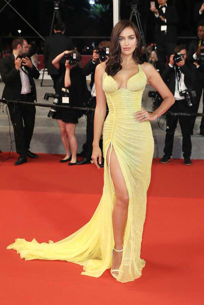 Irina Shayk bares curves and cleavage at the 70th Annual Cannes Film Festival