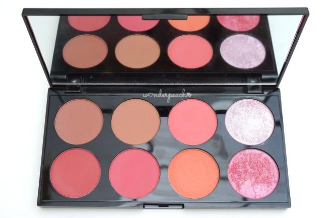 Makeup Revolution Ultra Blush Contour Palette Sugar E. Review จ ดเต ม Makeup Revolution แบรนด น องใหม จากเกาะอ งกฤษ เยอะมากกก