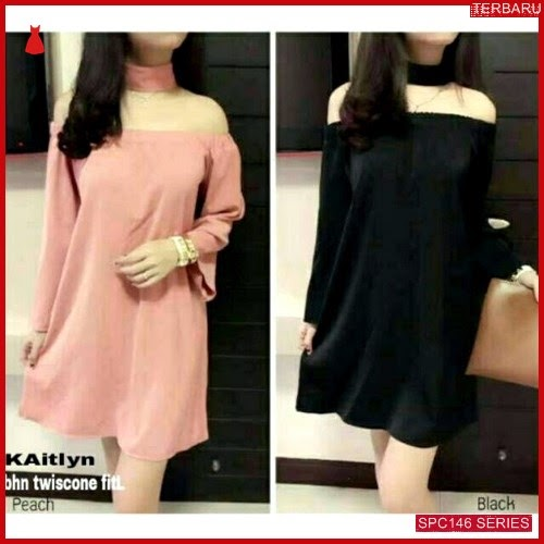 SPC146K34 Kaitlyn Bhn Karet Twiscone Dress Wanita | BMGShop