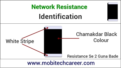 mobile phone repair krna sikhe - pcb circuit board motherboard per small parts - network resistance ki pahchan kaise kare | karya or khrabiya