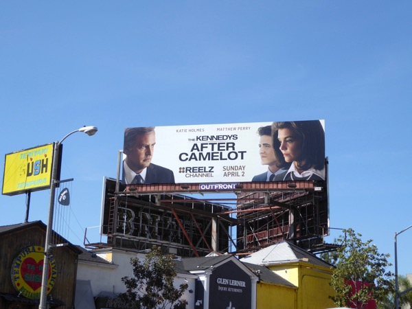 Kennedys After Camelot series billboard