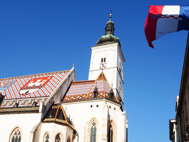 La chiesa di San Marco Zagabria