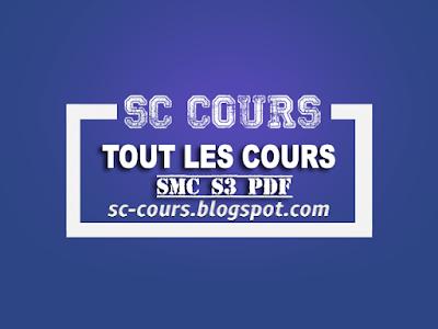 telechargement du cours chimie organique generale smc s3 pdf by sc-cours