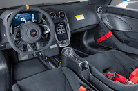 McLaren MSO X (2018) Dashboard