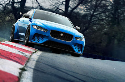 Jaguar XE SV Project 8 in Nürburgring Nordschleife