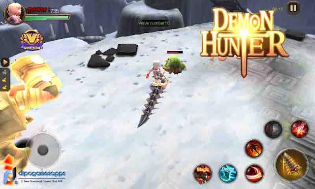 Download Demon Hunter MOD APK + OBB Terbaru 2018