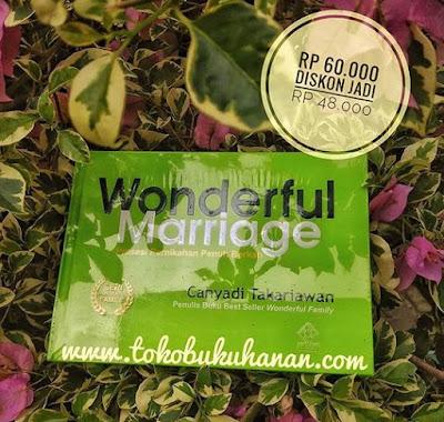 buku wonderful marriage karya Cahyadi Takariawan
