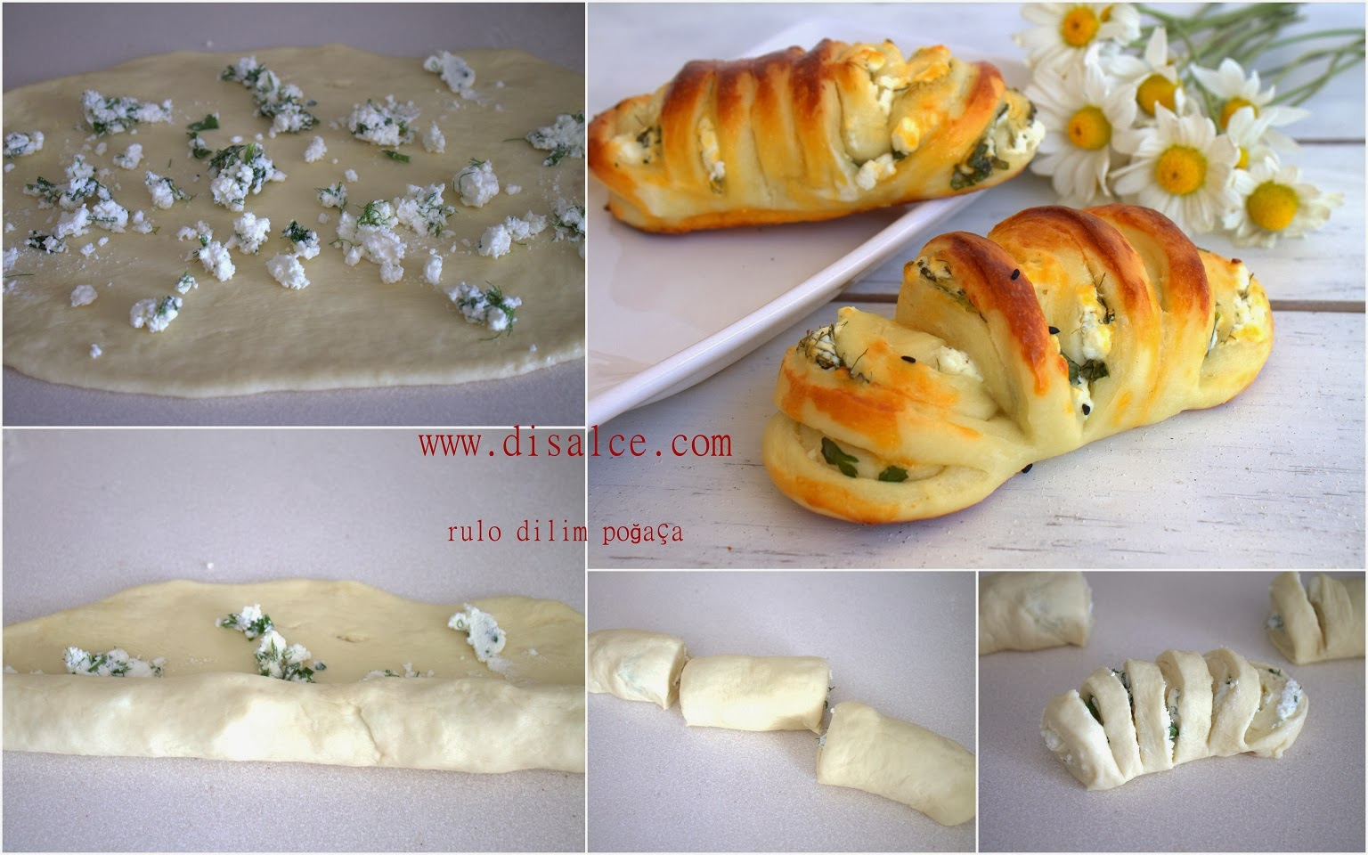 Peynirli Dilimli Poğaça