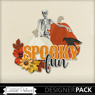 Digital Scrapbooking Halloween Freebie