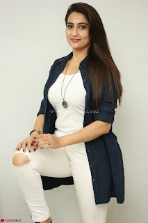 Manjusha in White Tight T Shirt and Black Jacket ~ Exclusive Celebrities Galleries 009