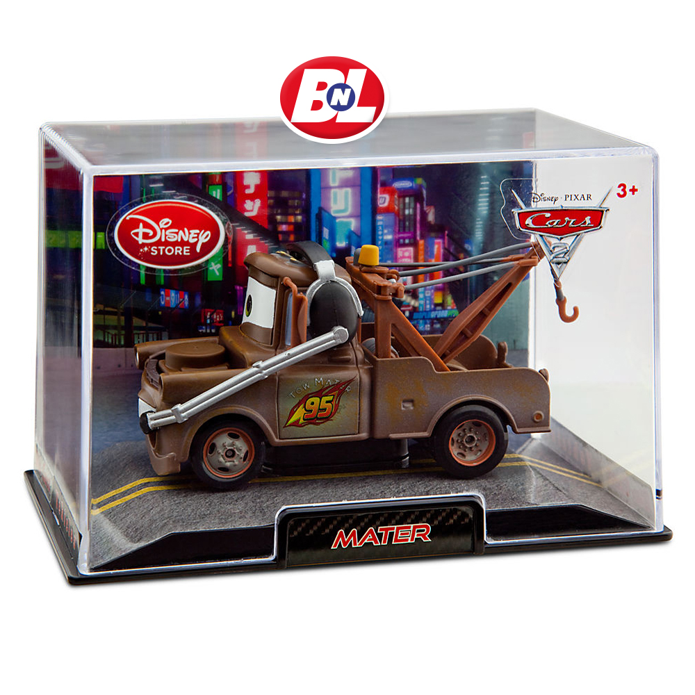 Welcome On Buy N Large Cars 2 Lightning Mcqueen Silver: WELCOME ON BUY N LARGE: Cars 2: Mater