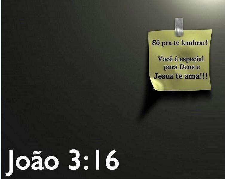 Lado C: JOÃO 3 V 16