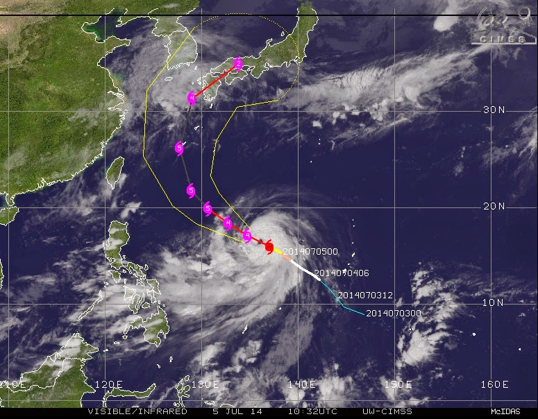 "tormenta tropical ""Neoguri"
