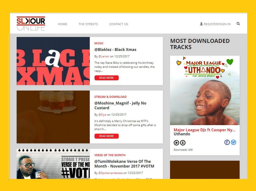 How To Upload Your Single On Slikouronlife Screen Shoot Guide