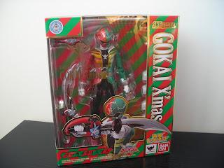 SH Figuarts Gokai Christmas Box Front
