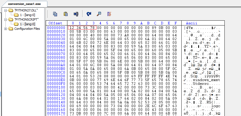 Reverse Engineering of Python built executables ~ Malware