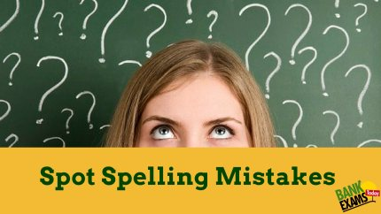 spelling mistakes