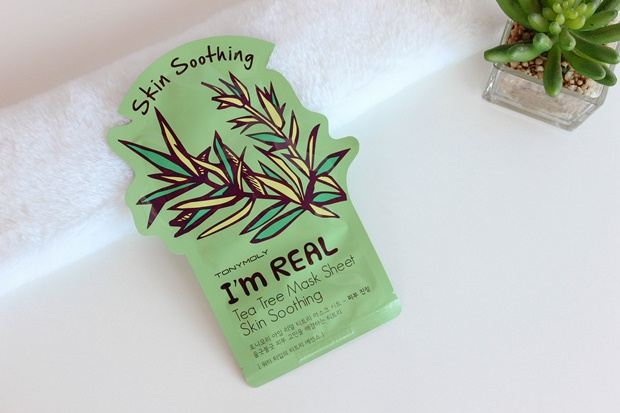 Tea Tree Mask Sheet Skin Soothing Tonymoly - Style Korean