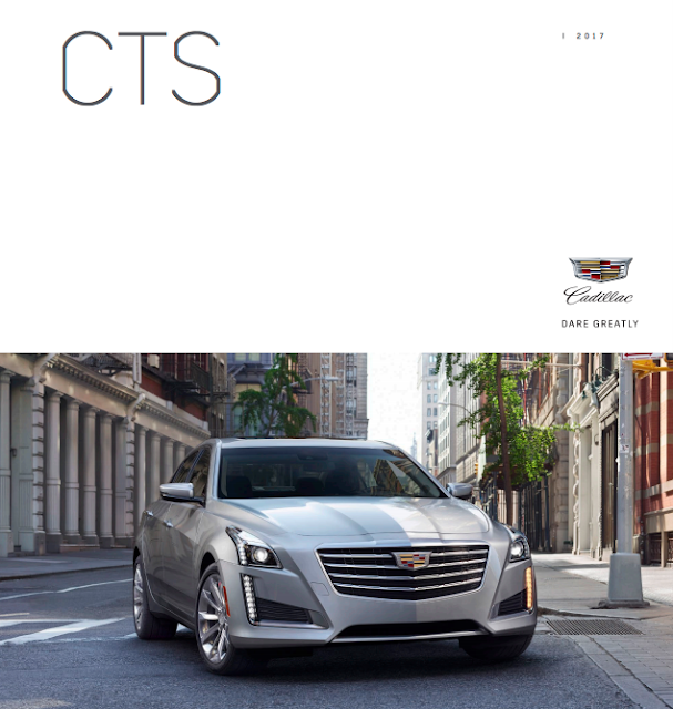 Downloadable 2017 Cadillac CTS Brochure