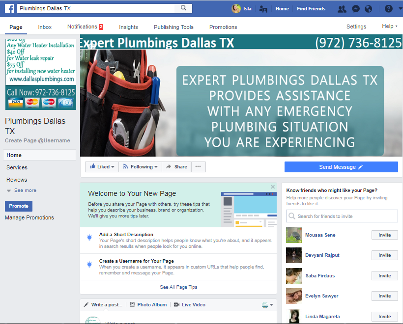 Expert Plumbings Dallas TX