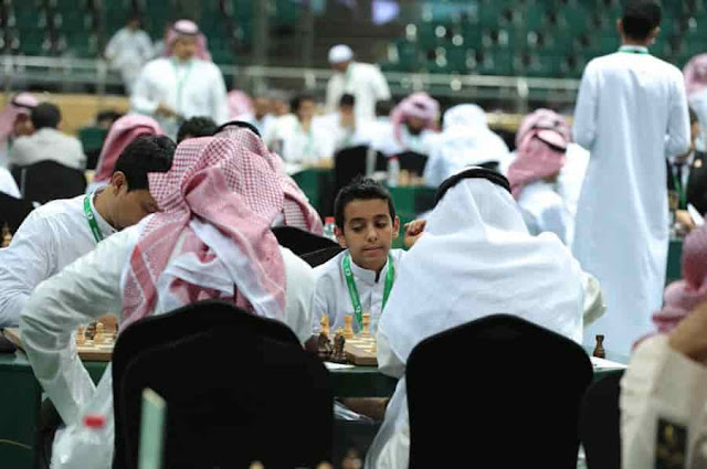 FIRST CHESS CHAMPIONSHIP IN SAUDI ARABIA
