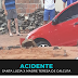 Carro caiu em um buraco da CAERN na rua Santa Luzia x Madre Teresa de Calcutá