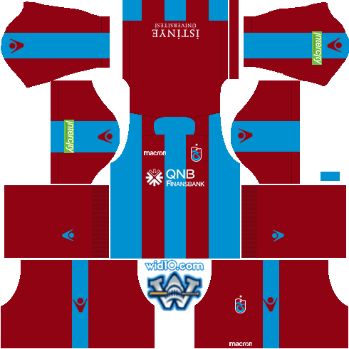 d3bbd6a905e Trabzonspor 2018-2019 Dream League Soccer DLS/FTS 18 Kits Forma ve ...