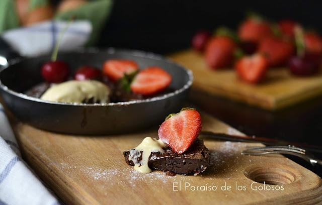 Tortilla De Chocolate Con Fresas -elena  Arzak