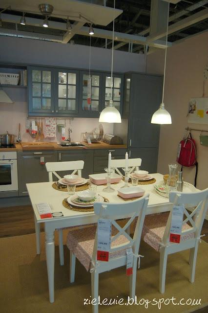 Zielenie Spacer po IKEA -> Salon Kuchni Janki