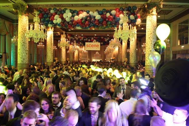 Festas de ano novo em Chicago
