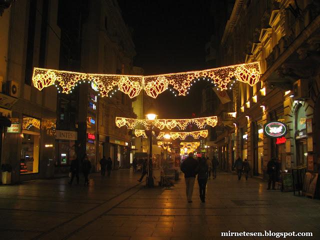 Белград - Кнез Михайлова на Рождество