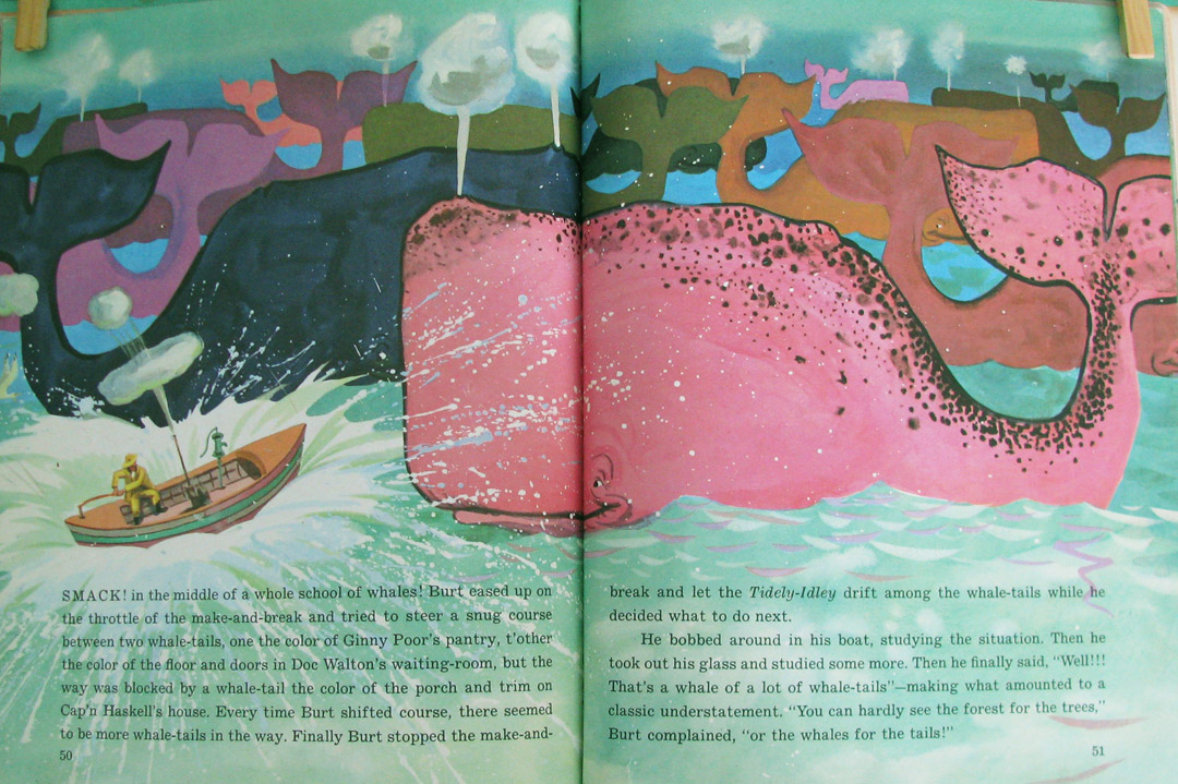The Art Of Children S Picture Books Burt Dow Deep Water