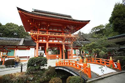 Kuil Kamo Jinja Kyoto, Jepang