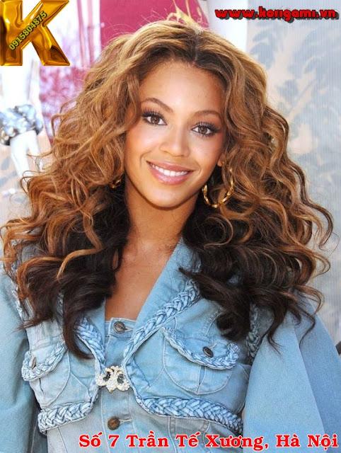tóc nữ, tóc dài, uốn