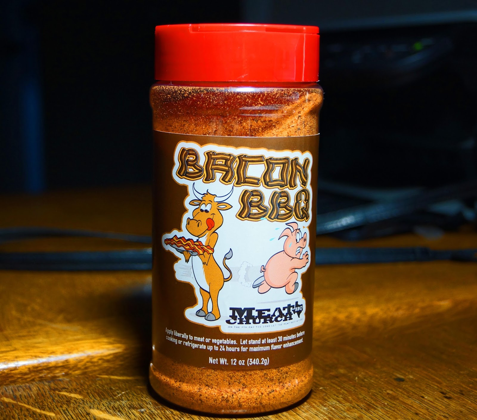 bacon bbq is an all purpose rub created by meat church bbq i was ...