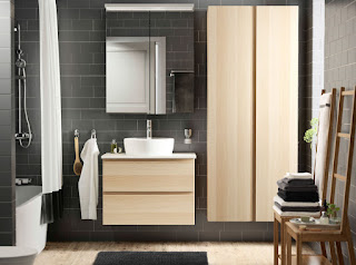Elegantna kopalnica - kopalniško pohištvo.
