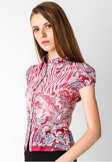 Model Baju Batik Modern Terbaru 2015 Model Baju Batik Online