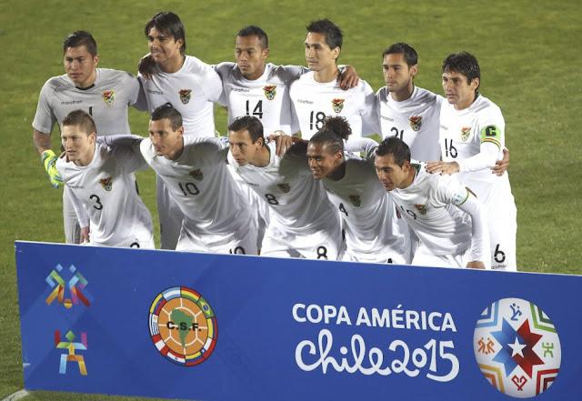 Formación de Bolivia ante Chile, Copa América 2015, 19 de junio