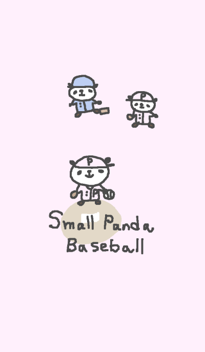 Baseball panda theme