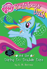 MLP Rainbow Dash and the Daring Do Double Dare Book Media